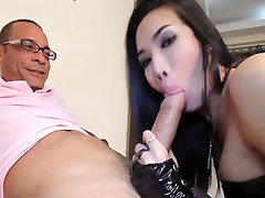 Horny shemale May gets fucked