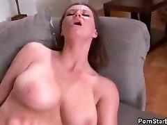 Busty Sara Stone Fucked And Jizzed On