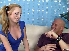 Fresh Blonde Teen Loves Fucking Older Men