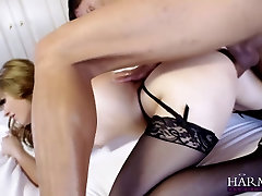 HARMONY VISION Teen latina Charlize Tinkerbell Anal pounded