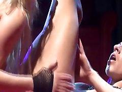public lesbian sex on stage