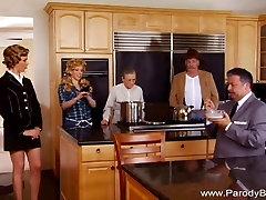 Beverly Hillbillies Parody Double Teen Blowjob