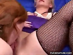 Mature Honey Caught In A Threesome
