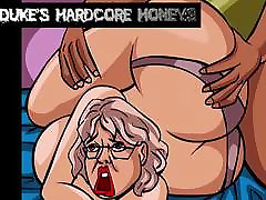 Thick Ass Grandmother Fucked by Big Black Cock!
