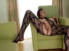 big titty granny enjoying young cock